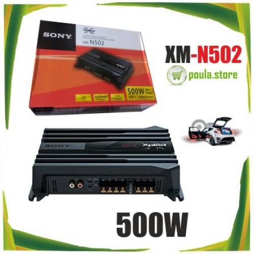 SONY XM-N502 2-CHANNEL STEREO Ενισχυτής Αυτοκινήτου 500W
