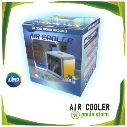 Φορητός κλιματισμός Air Cooler 7 χρώματα LED 375ml