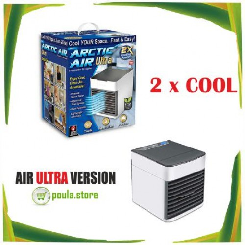 Arctic Air Ultra φορητό μικρό ψυγείο x2 power