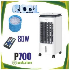 P700 Air Cooler Φορητό Κλιματιστικό-Υγραντήρας 80W δεξαμενή νερού 3L
