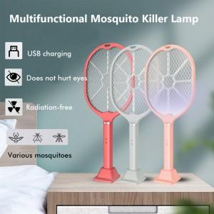 Ηλεκτρική ρακέτα Ασύρματη για εξόντωση κουνουπιών