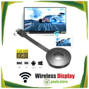 Ασύρματος δέκτης οθόνης HDMI για μεταφορά video 1080P