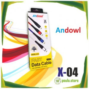 ANDOWL X-04  ΚΑΛΩΔΙΟ ΓΡΗΓΟΡΗΣ ΦΟΡΤΙΣΗΣ ΓΙΑ IPHONE