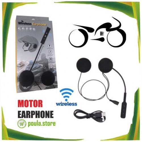 Ασύρματο ακουστικό Μοτοσικλέτας Bluetooth MP3 MP4
