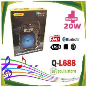 Q-L688 ANDOWL Ασύρματο ηχείο για τις διακοπές σας BLUETOOTH-USB/MP3