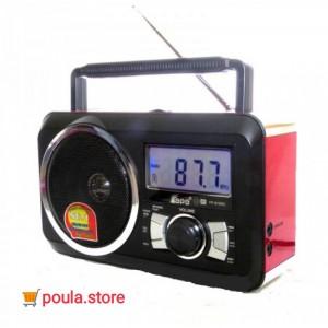 Φορητό ραδιοφωνάκι ψηφιακό ρολόι Recorder USB/SDcard - FM Radio - FP-910rc