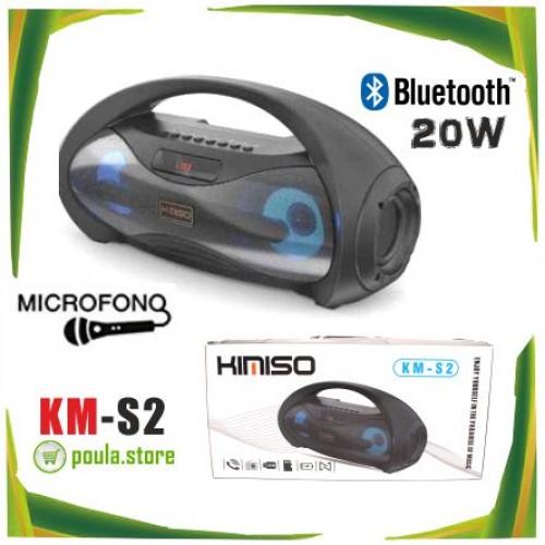 KIMISO KM-S1 Φορητό ηχείο Bluetooth 4.0 για μουσική & τραγούδι 2 x 10W