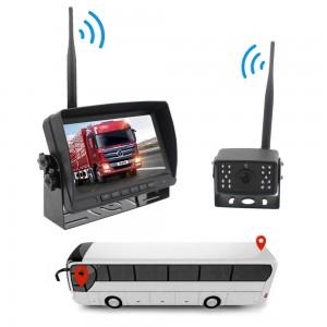 """Ασύρματη οθόνη 7"""" 2.4G αυτοκινήτου 800x480 έγχρωμη οθόνη TFT LCD με κάμερα οπίσθιας"""