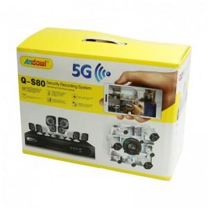 ΣΕΤ ΚΑΤΑΓΡΑΦΗΣ ΜΕ 8 ΚΑΜΕΡΕΣ CCTV CAMERA KIT ANDOWL Q-S80