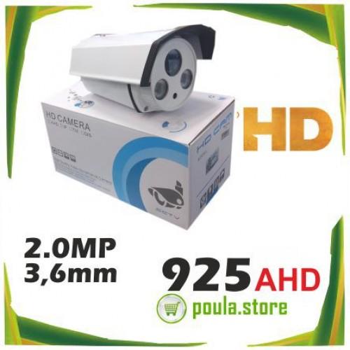 925AHD CAMERA 2.0mp ΛΕΥΚΗ HD DC12V