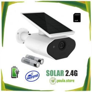 2.4G WIFI Φωτοβολταϊκή κάμερα ασύρματη-αδιάβροχη-sd card