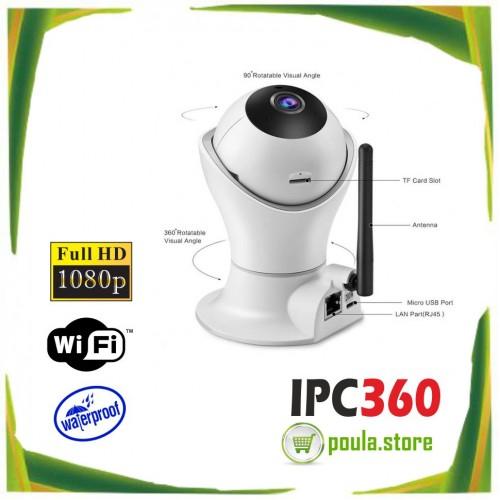 JORTAN IPC360 IP ασύρματη 3D Πανοραμική κάμερα 1080P Wifi