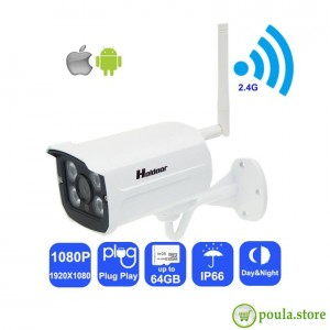 1080P HD Wifi ασύρματη Ip αδιάβροχη κάμερα 3mp