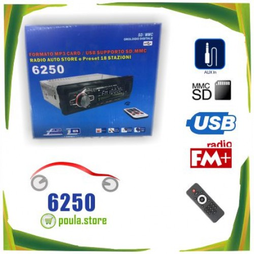 Rolinger 6250 USB-SD Car Radio