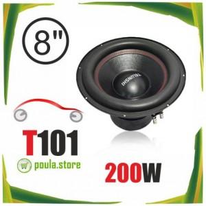 T101 Subwoofer αυτοκινήτου 8 ιντσών διπλού πηνίου 200W