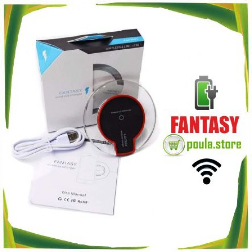 Fantasy Qi Πρότυπο ασύρματο φορτιστή για τηλέφωνο-Tablet