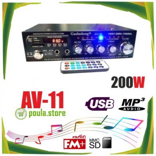 AV-11 Ενισχυτής - Karaoke Gaolusheng  200W