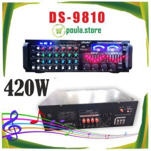 VLLIODOR DS-9810 Επαγγελματικός ενισχυτής ήχου 420W