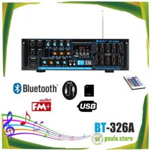 Teli BT-326A Επαγγελματικός ενισχυτής Bluetooth-USB-SD 150W