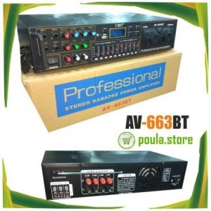 Home Cinema - Ενισχυτής ήχου Καραόκε Bluetooth/Usb 400W