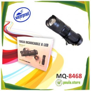 ΕΠΑΝΑΦΟΡΤΙΖΟΜΕΝΟΣ ΦΑΚΟΣ LED MQ-8468 MEIQ-IT
