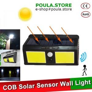 48/96 LED Solar Hλιακό πάνελ φωτισμού για Εξωτερικό κήπο LED Street Light