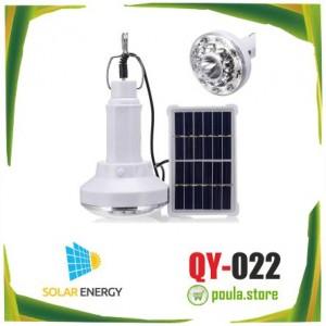 QY-022 Αυτόνομο φορητό ηλιακό σύστημα με μία λάμπα