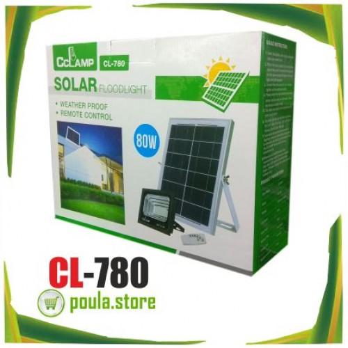 Σύστημα ηλιακού φωτισμού Solar Auto FloodLight CL-780 80W