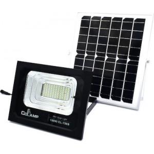 Ηλιακός Προβολέας 88LED Αλουμινίου 100W IP67 CcLamp CL-750s – Μαύρο