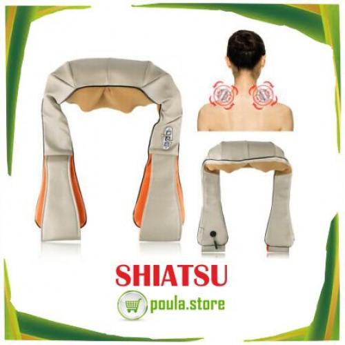 Συσκευή Shiatsu για μασάζ αυχένα με υπέρυθρη θερμότητα