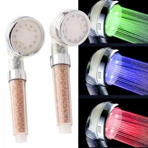 Τηλέφωνο ντους spa με φωτισμό LED και φίλτρο αρνητικών ιόντων