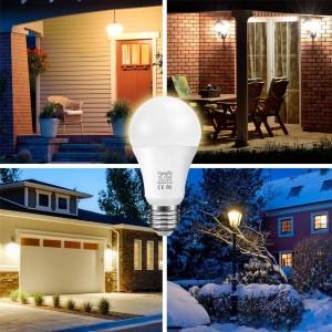 Λάμπα LED Έξυπνη-αισθητήρα Kκίνησης 7W E26 / E27 εσωτερική-εξωτερική