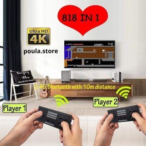 EXTREME Hdmi 2.4G ασύρματη κονσόλα βιντεοπαιχνιδιών 4K
