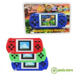 PXP SY-888 Παιχνιδομηχανή με 288 ενσωματωμένα Παιχνίδια