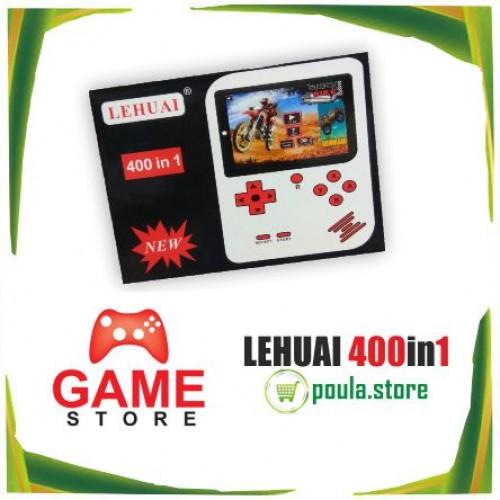 LEHUAI Ατομική μικρή κονσόλα παιχνιδιών 400in1