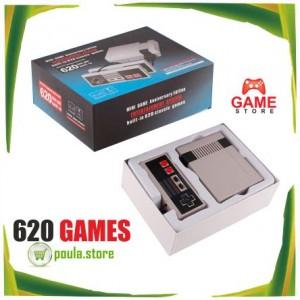 Mini κλασική κονσόλα παιχνιδιών Ενσωματωμένο 600 games