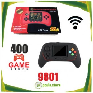 9801 Παιχνιδομηχανή χειρός τσέπης 400 σε 1