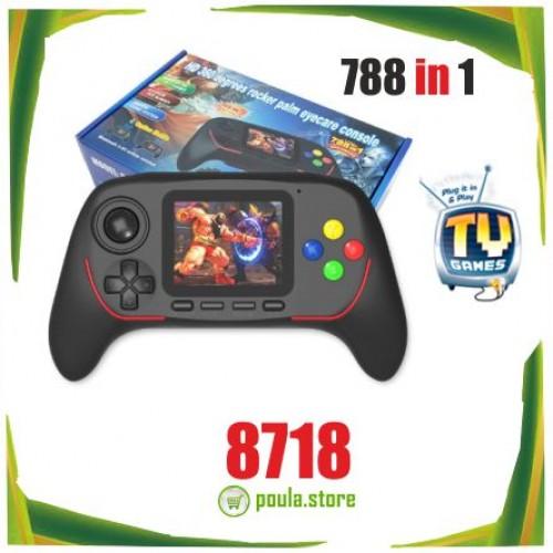16-bit Κονσόλα Παιχνιδιών Χειρός με 788 Ενσωματωμένα Παιδικά Παιχνίδια