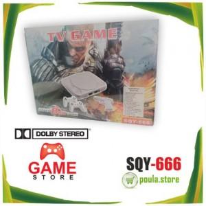 SQY-666 Οικογενειακή κονσόλα 8 bit με ενσωματωμένα ρετρό παιχνίδια STEREO