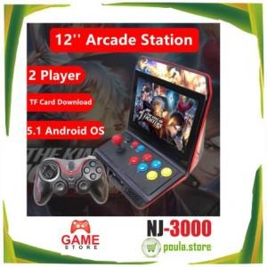 """NJ 3000 Retro Κονσόλα παιχνιδιών 12"""" inch HD screen 4 GB HDMI"""