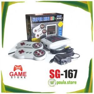 SG-167 super mini MD κονσόλα 167 παιχνιδιών 16-bit