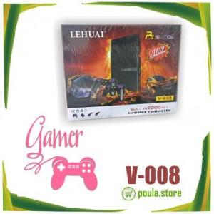 LEHUAI Pii Station V-008 Κονσόλα  2000 ενσωματωμένα παιχνίδια