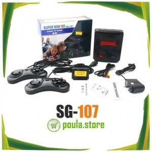 Classic 16 Bit Super Mini SEGA MD SG-107 Video Game