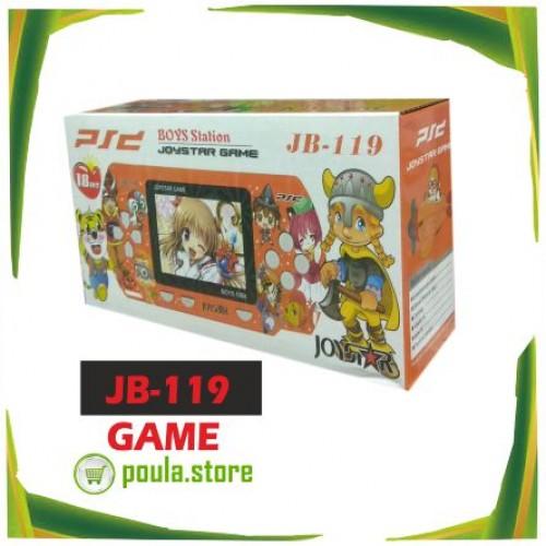 PS2 JB-119 Κονσόλα παιχνιδιών χειρός & Σύνδεση T.V