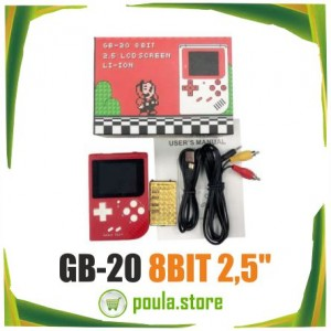 GB-20 8BIT Παιχνιδομηχανή Ρετρό παιχνίδια 2.5''