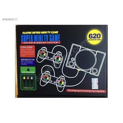 SUPER mini κονσόλα παιχνιδιών νέων προδιαγραφών με 620 παιχνίδια