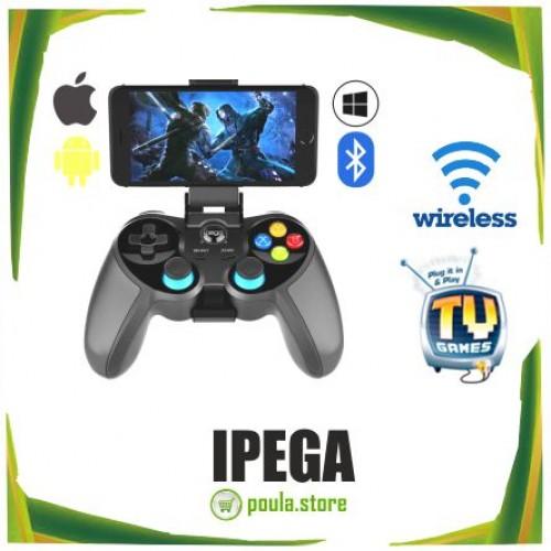 IPEGA Ασύρματο χειριστήριο παιχνιδιών Bluetooth 4.0 με joystick iOS-Android