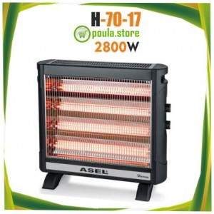 ASEL SPRINTER H-70-17 Θερμάστρα χαλαζία 2800W