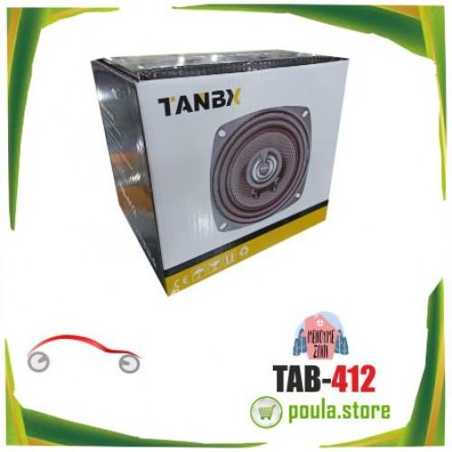 """TB-412 TANBX Ζευγάρι ηχείων 2x4""""αυτοκινήτου 2x50W"""