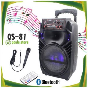 QS-81 YILIDA Ασύρματο Φορητό ηχείο Bluetooth με Μπαταρία 100W